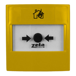 Zeta Gas Release Yellow Manual Call Point