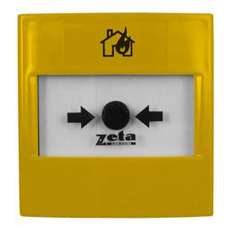 Zeta Gas Release Yellow Manual Call Point