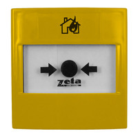 Fire Alarms, Automatic Extinguisher Systems, Premier EX Pro Automatic Extinguisher System, Premier EX Pro Manual Call Points - Zeta Gas Release Yellow Manual Call Point
