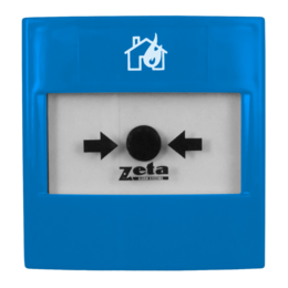 Zeta Gas Abort Blue Manual Call Point