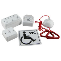 First Aid & Safety Equipment, Disabled Toilet Alarms, Disabled Toilet Alarm Kits - Disabled Toilet Alarm 1-4 Zone Kit