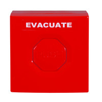 Fire Alarms, Fire Alarm Accessories, Switches & Push Buttons - STI StopperSwitch Indoor Push Buttons