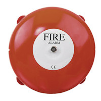 Fire Alarms, Sounders, Flashers & Bells, Fire Alarm Bells - Vimpex 6 or 8 Inch Weatherproof Bell
