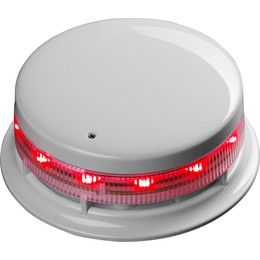 Locking Cap For AlarmSense Sounder Bases In White