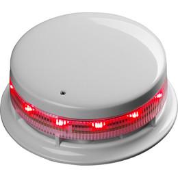 White or Red Locking Cap For AlarmSense Sounder Bases