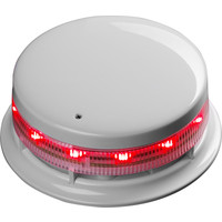 White or Red Locking Cap For AlarmSense Sounder Bases