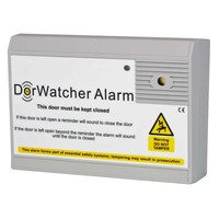 Security Equipment, Door Alarms - DorWatcher Door Held Open Alarm