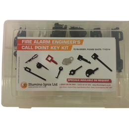 Call Point Key Kit For Fire Alarm Engineers