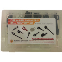 Fire Alarms, Fire Alarm Accessories, Fire Alarm Engineer Kits - Call Point Key Kit For Fire Alarm Engineers