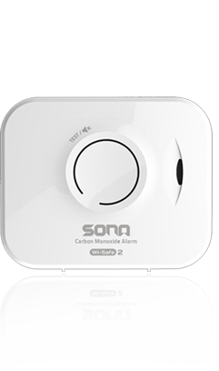 sona battery powered carbon monoxide alarm with wireless link discount fire. Black Bedroom Furniture Sets. Home Design Ideas