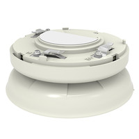 Fire Alarms, Sounders, Flashers & Bells, Fire Alarm Sounders, Addressable Sounders, Hochiki ESP Intelligent Sounders - Hochiki YBO-BS Addressable Base Sounder (Ivory or White)
