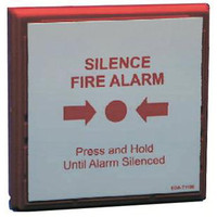 Fire Alarms, Wireless Fire Alarms, Zerio Plus Wireless Fire Alarm System, Zerio Plus Accessories - EDA-T5100 Zerio Plus Radio Silence Alarm Button