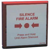 Fire Alarms, Wireless Fire Alarms, Zerio Plus Wireless Fire Alarm System, Zerio Plus Accessories - EDA-T5100 Zerio Plus Radio Silence Alarm Button