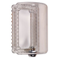 Fire Alarms, Fire Alarm Accessories, Thermostat Covers - STI 9100 - Small Narrow Thermostat Cover With Key Lock