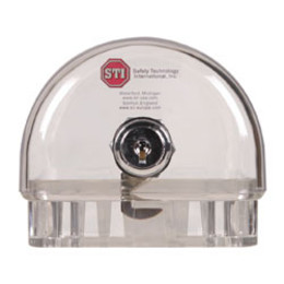 STI 9100 - Small Narrow Thermostat Cover With Key Lock