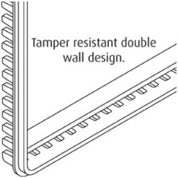 STI9102 - Small Thermostat Protector Flush Mount With Frangible Lock