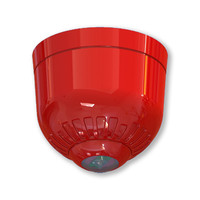 Fire Alarms, Sounders, Flashers & Bells, EN54-23 Visual Alarm Devices (VADs) - Sonos Pulse Ceiling Mounted EN Certified VAD Beacon With Optional Sounder