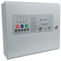 Fire Alarms, Fire Alarm Panels, 2 Wire Panels - Haes Eclipse 2 or 4 Zone Sav-Wire or Conventional Control Panel