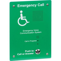 First Aid & Safety Equipment, Disabled Refuge Systems, C-Tec SigTEL Disabled Refuge System, SigTEL Outstations - SigTEL Type B Green Refuge Outstation