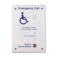 First Aid & Safety Equipment, Disabled Refuge Systems, C-Tec SigTEL Disabled Refuge System, SigTEL Outstations - SigTEL Type B Stainless Steel Refuge Outstation
