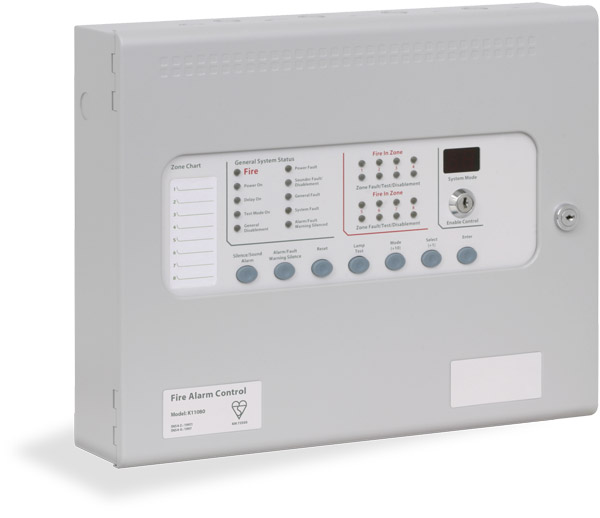 Kentec Sigma CP Conventional 2, 4 or 8 Zone Panel - Discount Fire ...