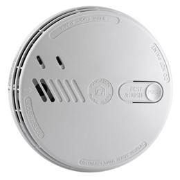 Ionisation Smoke Alarm 230V with Alkaline Battery Back-Up