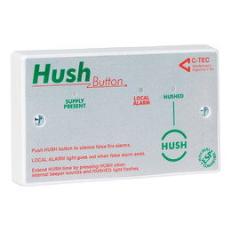 C-TEC BS 5839-6 Hush Button