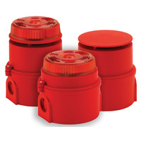 Fire Alarms, Sounders, Flashers & Bells, Intrinsically Safe Sounders and Flashers - Syrex Intrinsically Safe Sounder Beacon