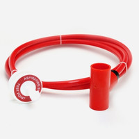 Fire Alarms, Fire Alarm Detectors, Aspirating Smoke Detection, Aspirating Pipe & Fittings, 25mm Aspirating Pipe & Fittings, Capillary Kits 25mm x 10mm - 25mm Red Capillary Kit with Conical Air Sampling Point / Tee