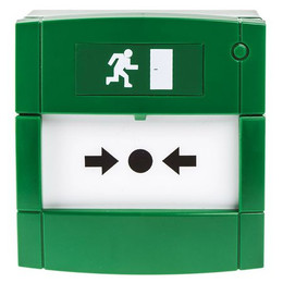 KAC Green Door Release Manual Call Point