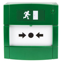 Security Equipment, Door Access Control, Standalone Door Access, Exit Switches & Call Points - KAC Green Door Release Manual Call Point