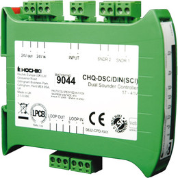 Hochiki ESP Dual Sounder Controller with SCI with DIN Rail Option