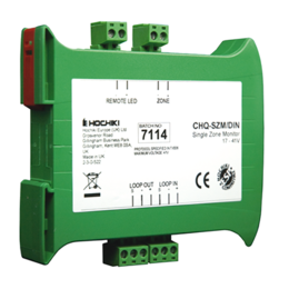 Hochiki ESP Single Zone Monitor with SCI with DIN Option
