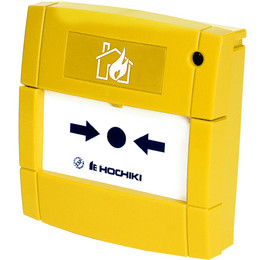 Hochiki ESP Addressable Manual Call Point in Yellow
