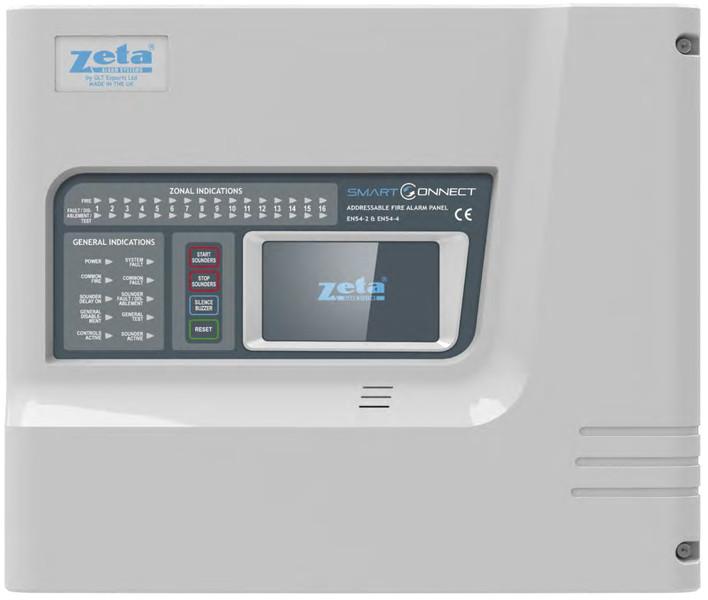 SmartConnect Touchscreen 1 Loop Addressable Fire Alarm Panel ...