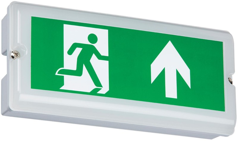 Ip65 Led Emergency Exit Box Maintained Or Non Maintained