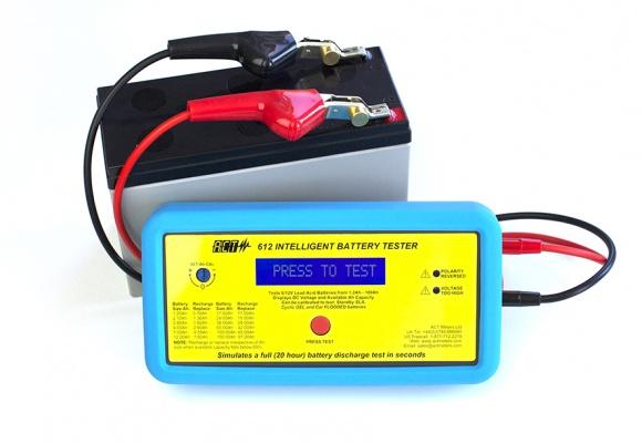 Act 612 6v Or 12v Intelligent Battery Tester Discount