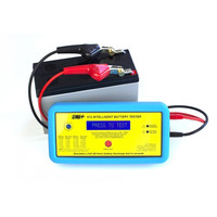 Fire Alarms, Fire Alarm Accessories, Fire Alarm Engineers Tools - ACT 612 6V or 12V Intelligent Battery Tester