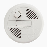 Fire Alarms, Domestic Smoke, Heat & CO Alarms, Battery Smoke, Heat & CO Alarms - First Alert 9V Heat Alarm With Test and Hush Button