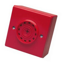 Fire Alarms, Sounders, Flashers & Bells, Fire Alarm Sounders, Conventional Sounders - Fulleon Askari Compact Conventional Sounder in Red or White
