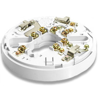 Fire Alarms, Fire Alarm Detectors, Fire Alarm Detector Bases, Hochiki Sav-Wire Bases - Hochiki Conventional 2 Wire Base In Ivory or White