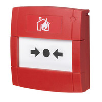 Fire Alarms, Fire Alarm Systems, Morley-IAS DX Connexion Fire Alarm System, Morley-IAS DX Connexion Manual Call Points - Morley-IAS MCP5A-RP02FF-01-B Addressable Manual Call Point, Surface Or Flush