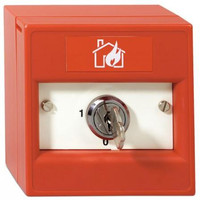Fire Alarms, Fire Alarm Accessories, Switches & Push Buttons - KAC Indoor Single Pole Keyswitch