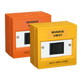 Smoke Vent Rocker Switch in Orange or Yellow