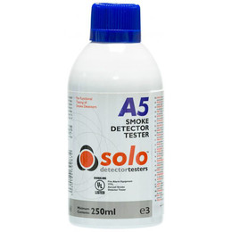 Solo A5 Smoke Detector Tester Aerosol 250ml (Flammable)