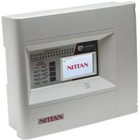 Fire Alarms, Fire Alarm Panels, Addressable Panels, Nittan Addressable Panels - Nittan Evolution 1 Single Loop Fire Alarm Control Panel