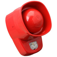 Fire Alarms, Sounders, Flashers & Bells, Fire Alarm Flashers, Conventional Flashers - Conventional Symphoni LX Wall Sounder Beacons