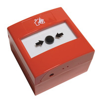 Fire Alarms, Manual Call Points, Addressable Call Points, Nittan Evolution Addressable Manual Call Points - Nittan Evolution Addressable Indoor Manual Call Point With Optional Short Circuit Isolator