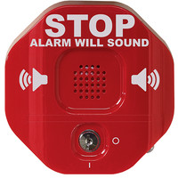 Fire Alarms, Fire Alarm Accessories, Fire Alarm Protection - STI 6400 Emergency Exit Doors Alarm