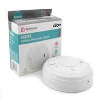 Fire Alarms, Domestic Smoke, Heat & CO Alarms, Aico 3000 Series, Mains Powered, 10 Year Lithium Batteries with Optional Wireless Interlink - Aico Ei3018 Carbon Monoxide Alarm
